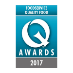 Christopher Faulkner at the Foodservice Quality Awards 2017